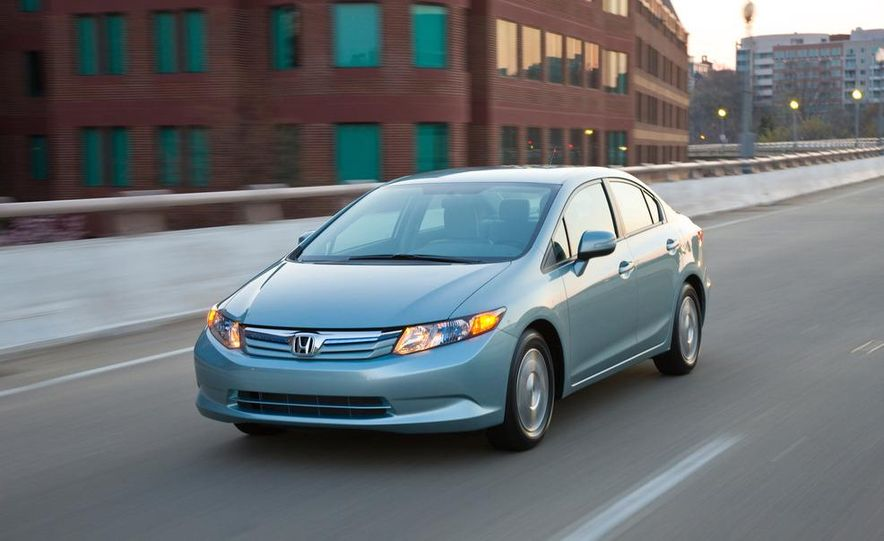 2012 Honda Civic EX-L sedan - Slide 34