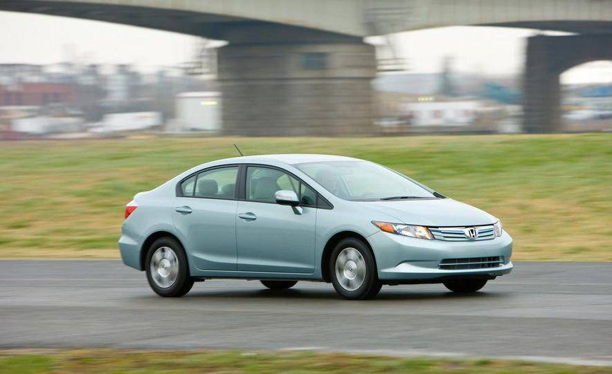 2012 Honda Civic EX-L sedan - Slide 36