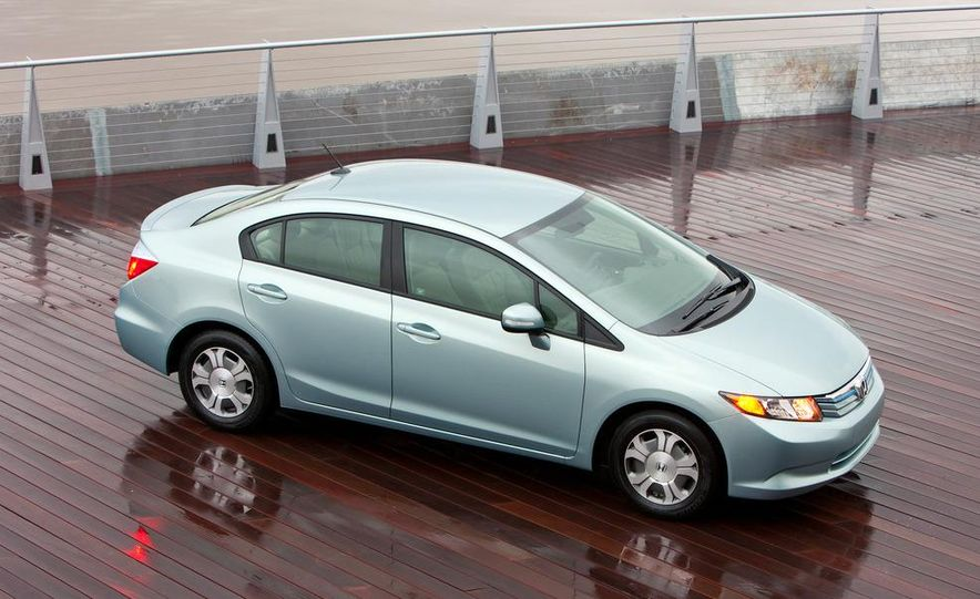 2012 Honda Civic EX-L sedan - Slide 38