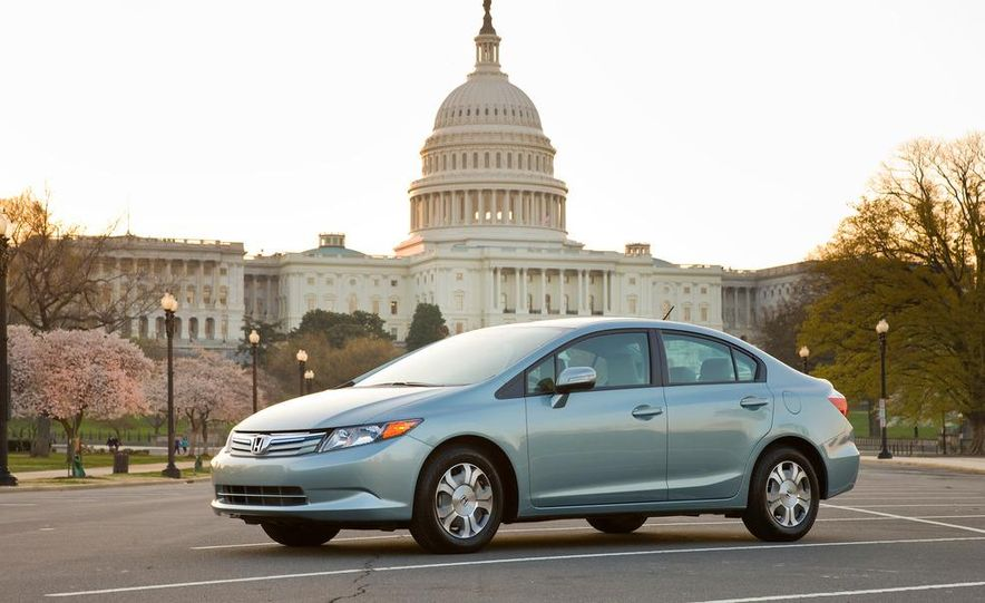 2012 Honda Civic EX-L sedan - Slide 41
