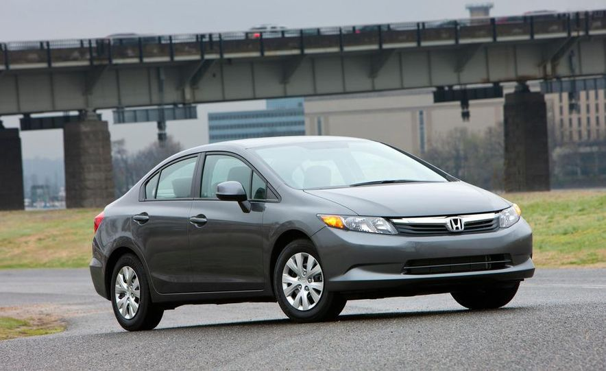 2012 Honda Civic EX-L sedan - Slide 25