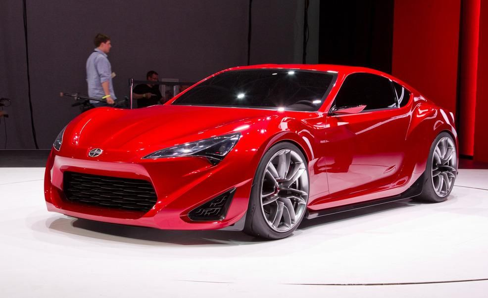 Scion FRS Concept Official Photos and Info  News  Car and Driver