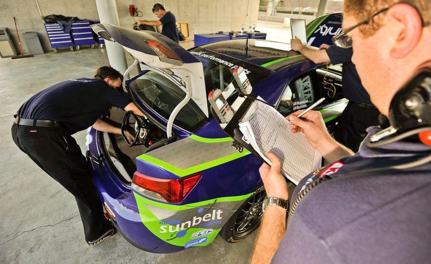 Kia Forte Koup race car - Slide 25