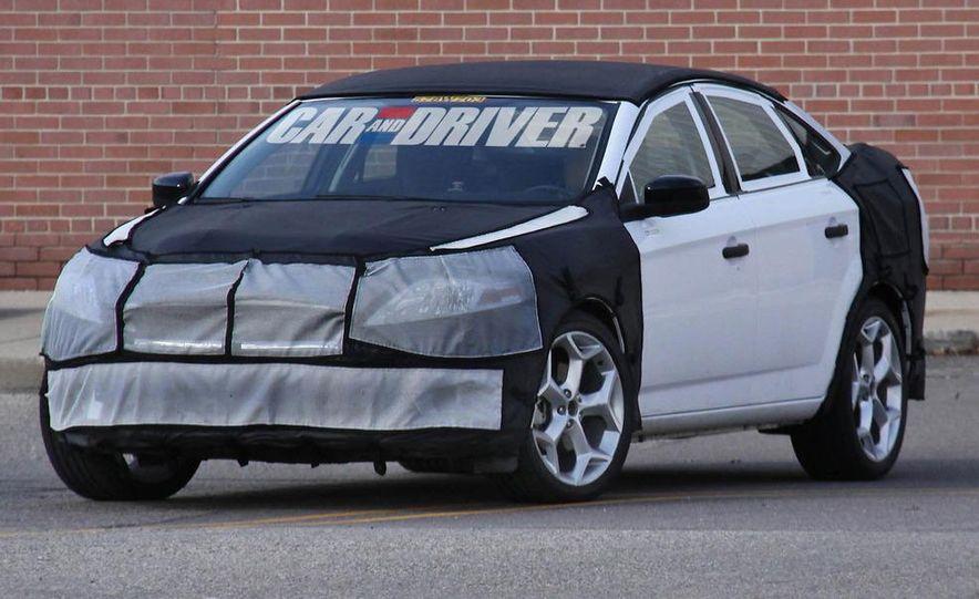 2013 Ford Fusion (spy photo) - Slide 1