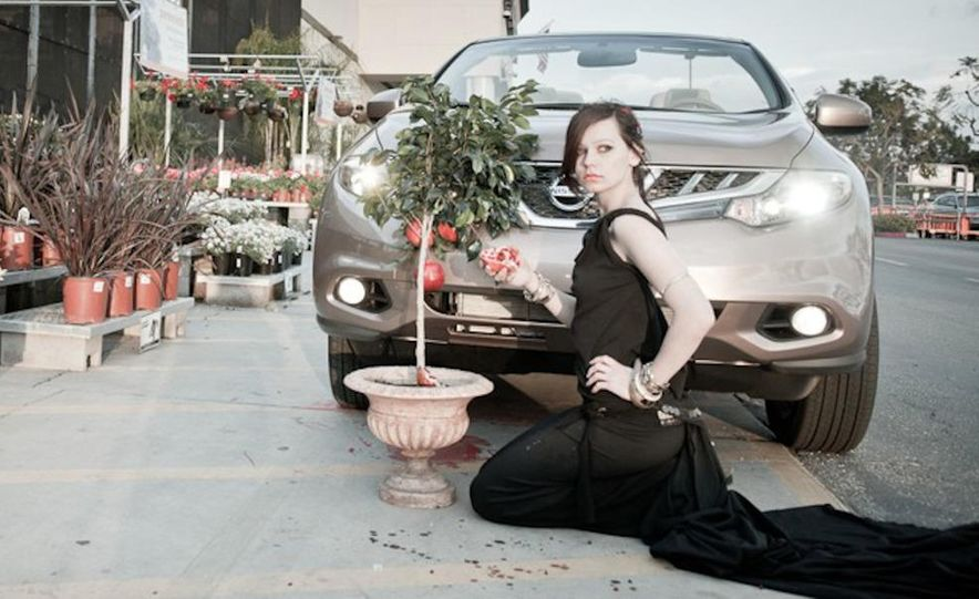 2011 Nissan Murano CrossCabriolet - Slide 34