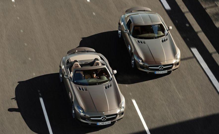 2012 Mercedes-Benz SLS AMG roadster - Slide 16