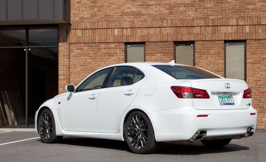 2011 Lexus IS F - Slide 3