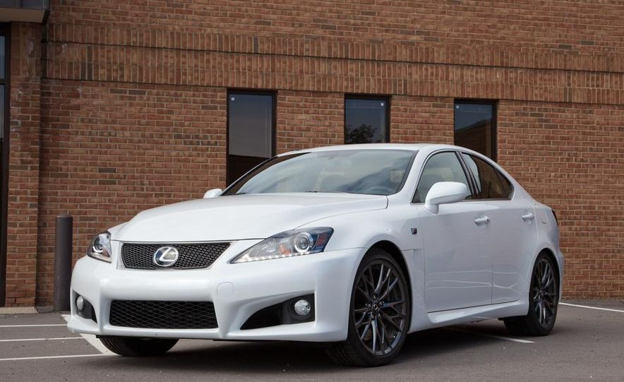 2011 Lexus IS F - Slide 4