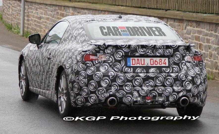 2012 Scion FR-S / Toyota FT-86 / Subaru RWD sports car (spy photo) - Slide 18