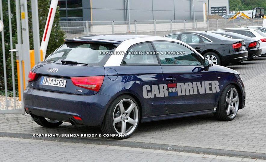 2013 Audi S1 (spy photo) - Slide 1