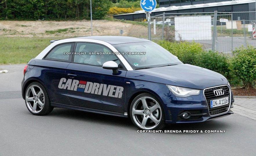 2013 Audi S1 (spy photo) - Slide 4