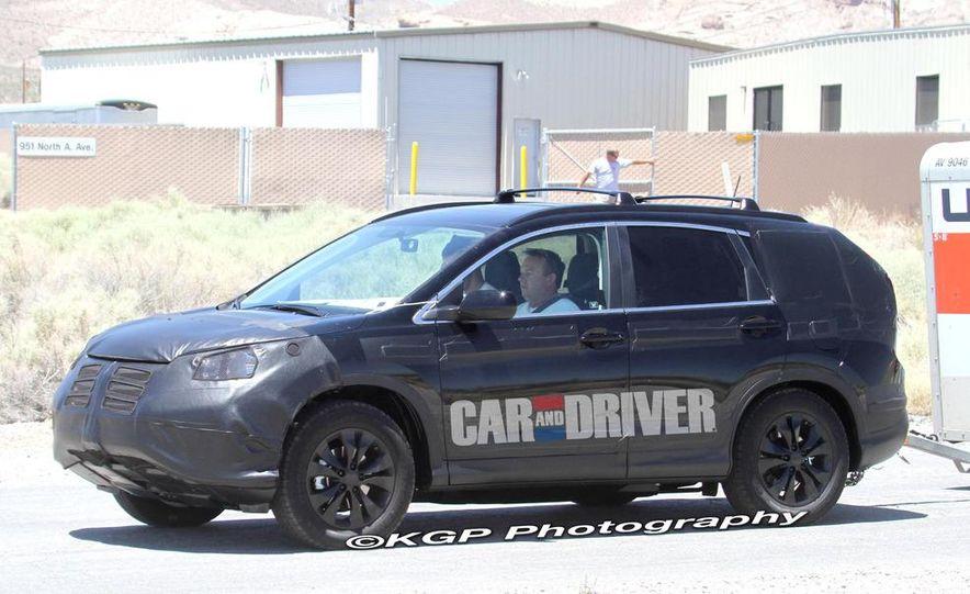 2012 Honda CR-V (spy photo) - Slide 2