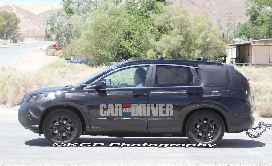 2012 Honda CR-V (spy photo) - Slide 3