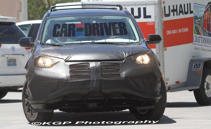 2012 Honda CR-V (spy photo) - Slide 6
