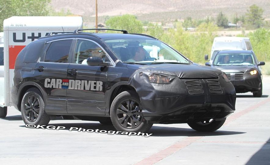 2012 Honda CR-V (spy photo) - Slide 7