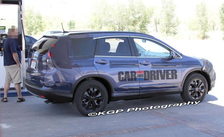 2012 Honda CR-V (spy photo) - Slide 8