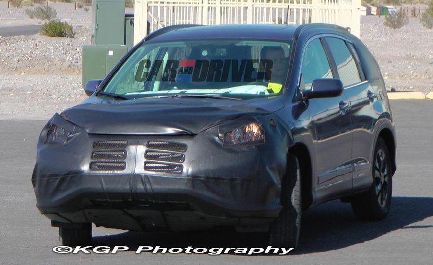 2012 Honda CR-V (spy photo) - Slide 9