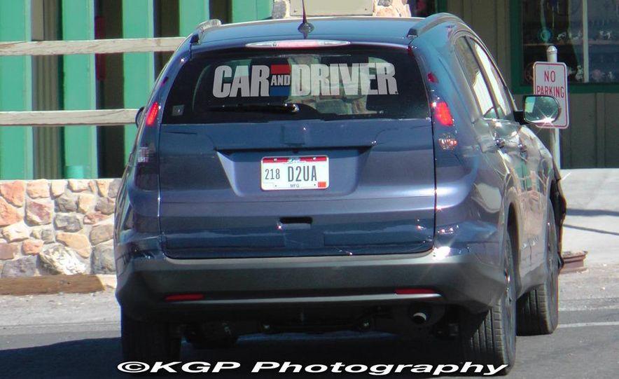 2012 Honda CR-V (spy photo) - Slide 10
