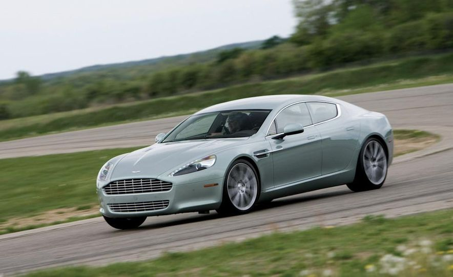 2013 Aston Martin Rapide S (spy photo) - Slide 6
