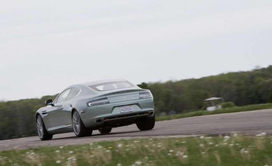 2013 Aston Martin Rapide S (spy photo) - Slide 7
