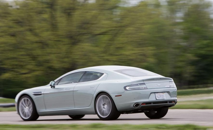 2013 Aston Martin Rapide S (spy photo) - Slide 8