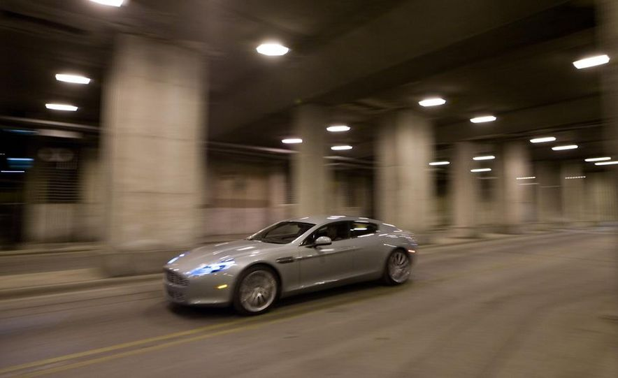 2013 Aston Martin Rapide S (spy photo) - Slide 9