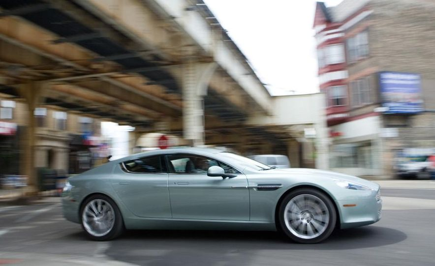 2013 Aston Martin Rapide S (spy photo) - Slide 14