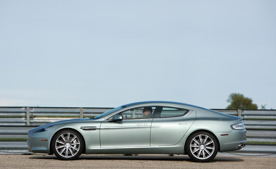 2013 Aston Martin Rapide S (spy photo) - Slide 15