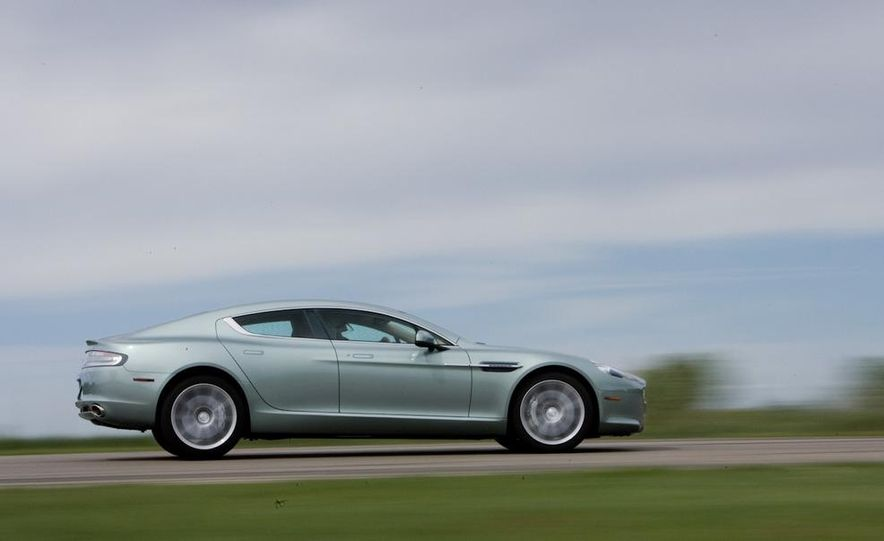 2013 Aston Martin Rapide S (spy photo) - Slide 17