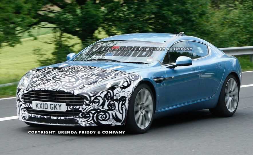 2013 Aston Martin Rapide S (spy photo) - Slide 1