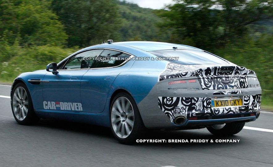 2013 Aston Martin Rapide S (spy photo) - Slide 3