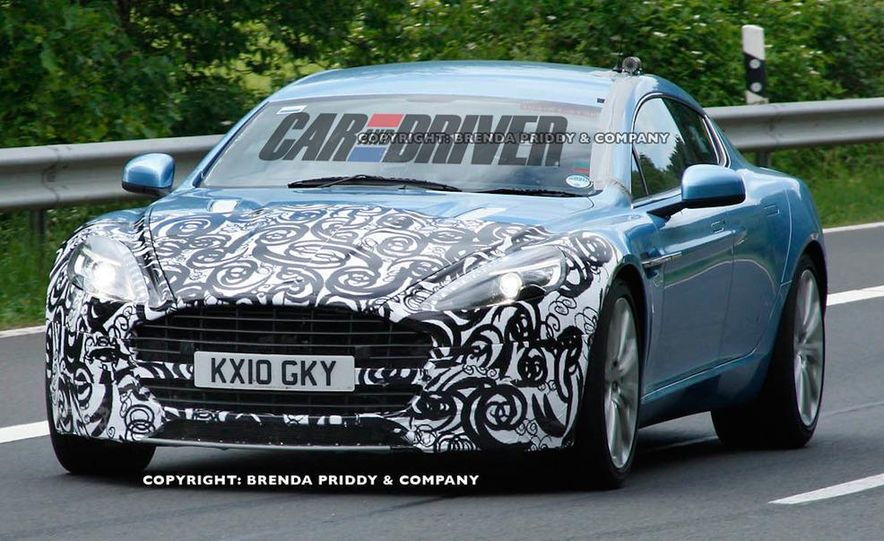 2013 Aston Martin Rapide S (spy photo) - Slide 4