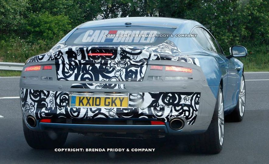 2013 Aston Martin Rapide S (spy photo) - Slide 5