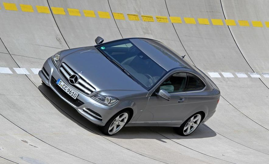 2012 Mercedes-Benz C350 coupe - Slide 13
