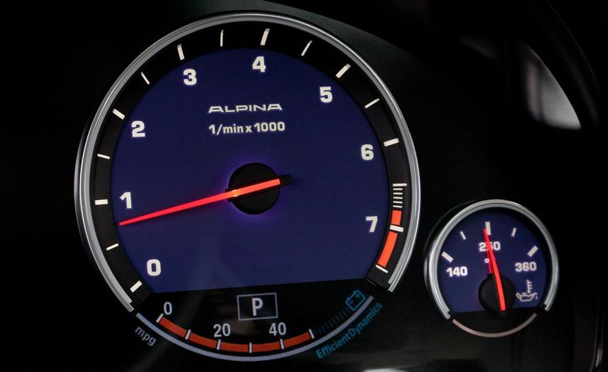 2011 BMW Alpina B7 xDrive - Slide 29
