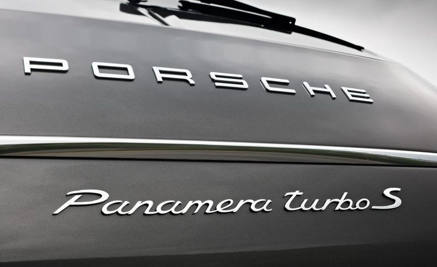 2012 Porsche Panamera Turbo S - Slide 34