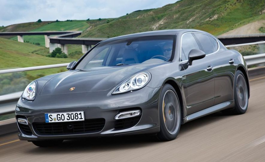 2012 Porsche Panamera Turbo S - Slide 10