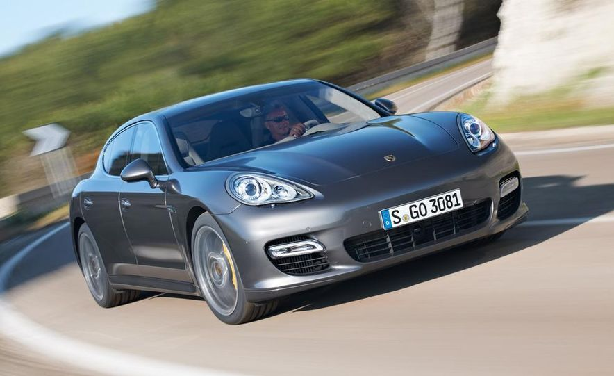 2012 Porsche Panamera Turbo S - Slide 21