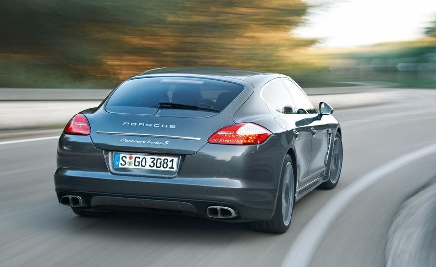 2012 Porsche Panamera Turbo S - Slide 26