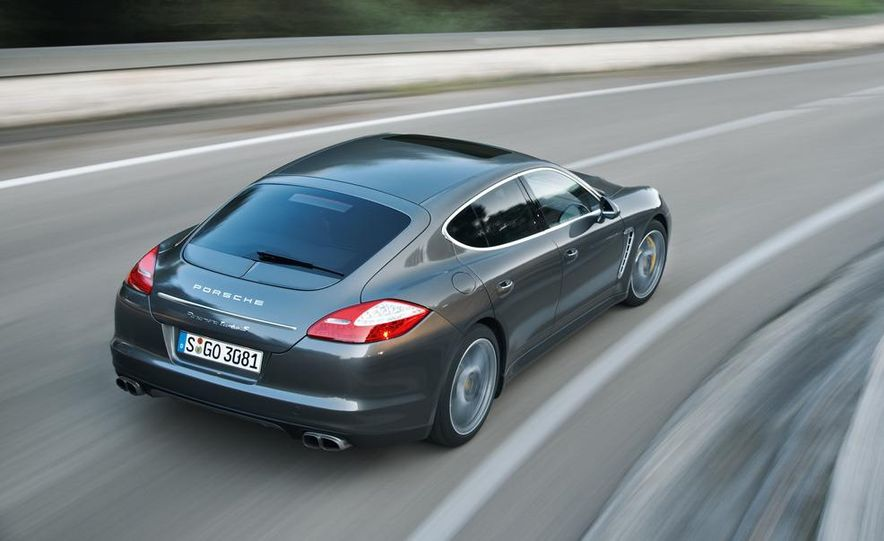 2012 Porsche Panamera Turbo S - Slide 27