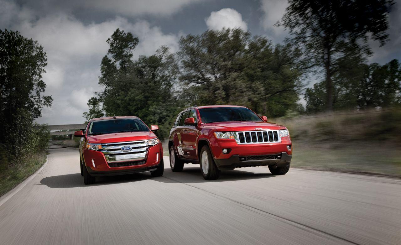 Ford Edge Vs Jeep Grand Cherokee