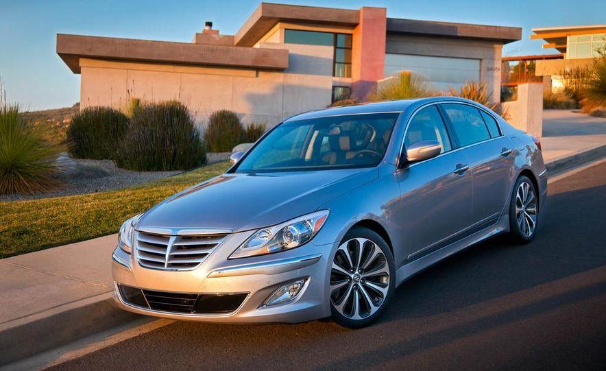2012 Hyundai Genesis 3.8 - Slide 27
