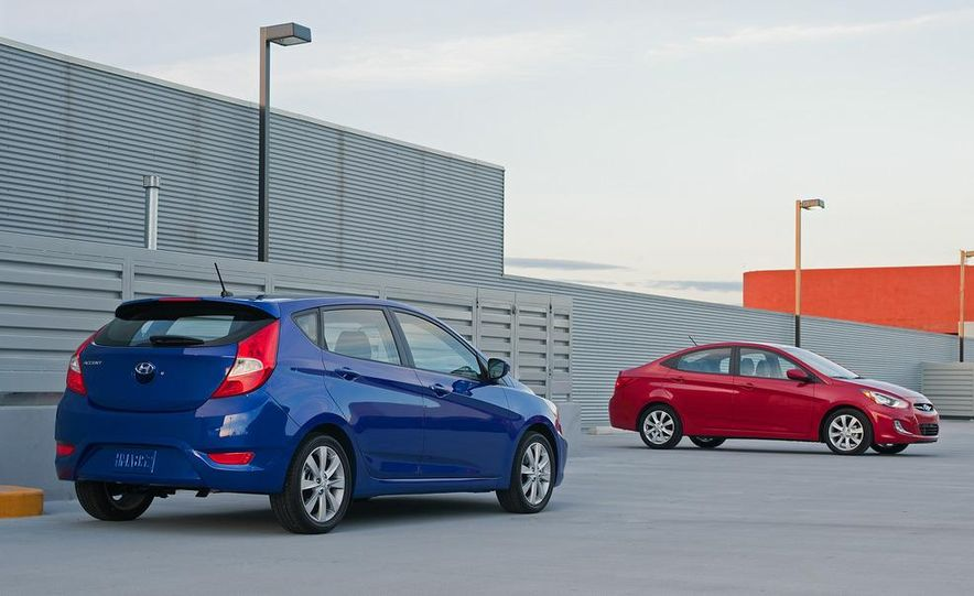 2012 Hyundai Accent hatchback and sedan - Slide 1