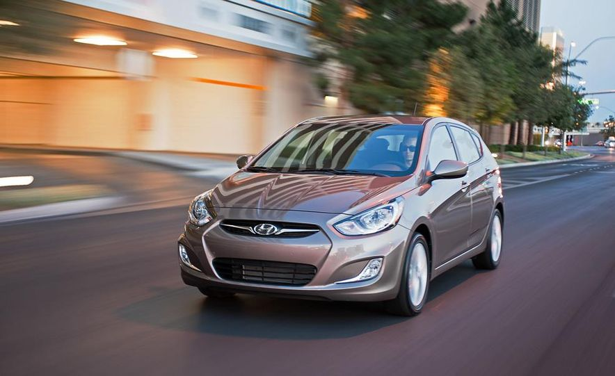 2012 Hyundai Accent hatchback and sedan - Slide 3