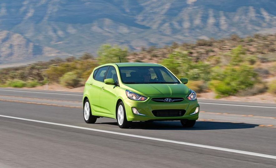 2012 Hyundai Accent hatchback and sedan - Slide 7