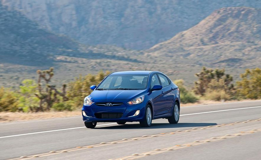 2012 Hyundai Accent hatchback and sedan - Slide 32