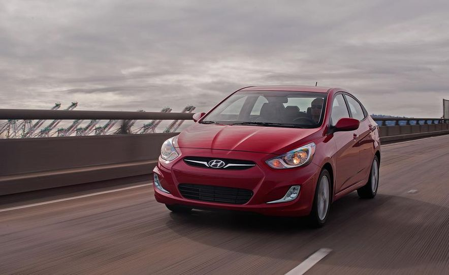 2012 Hyundai Accent hatchback and sedan - Slide 43