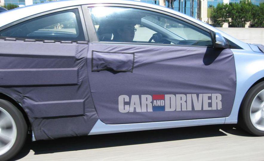 2012 Hyundai Elantra coupe (spy photo) - Slide 3