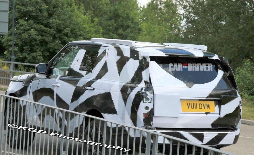 2013 Land Rover Range Rover (spy photo) - Slide 6