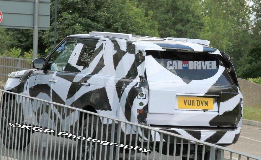 2013 Land Rover Range Rover (spy photo) - Slide 7